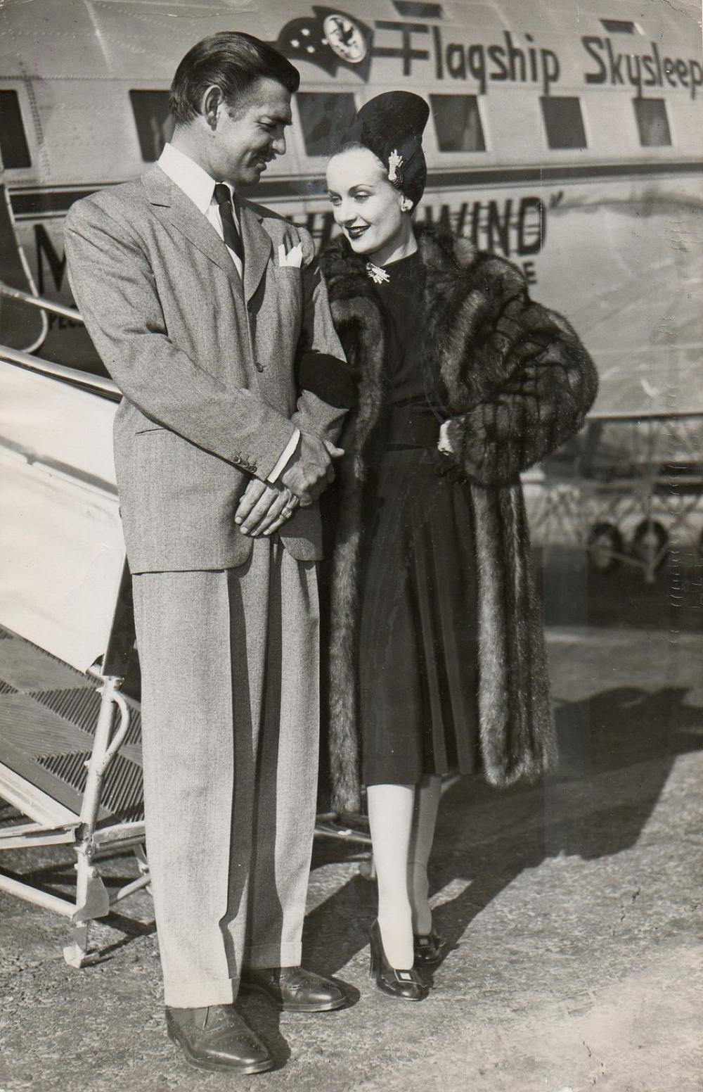 Carole Lombard couple