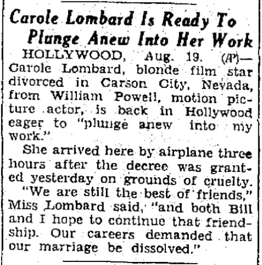 carole lombard 082033 lubbock avalanche journal