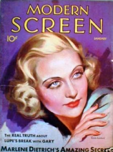 carole lombard modern screen january 1931b