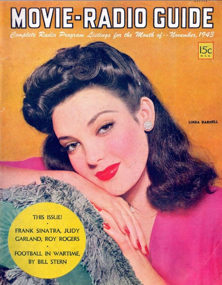 movie-radio guide nov 1943 cover