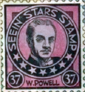 seein' stars stamps william powell 00