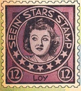 seein' stars stamps myrna loy 00