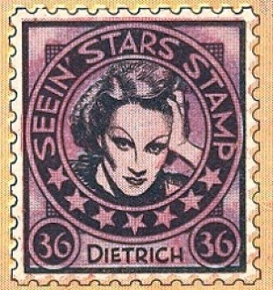 seein' stars stamps marlene dietrich 00