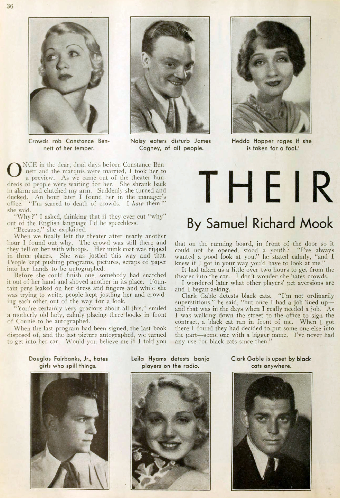 carole lombard picture play aug 1932 their little rages 00a