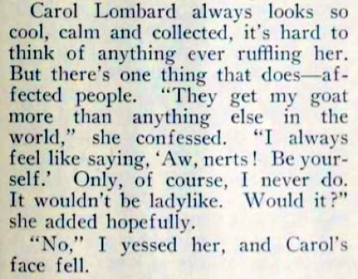 carole lombard picture play aug 1932 their little rages 03
