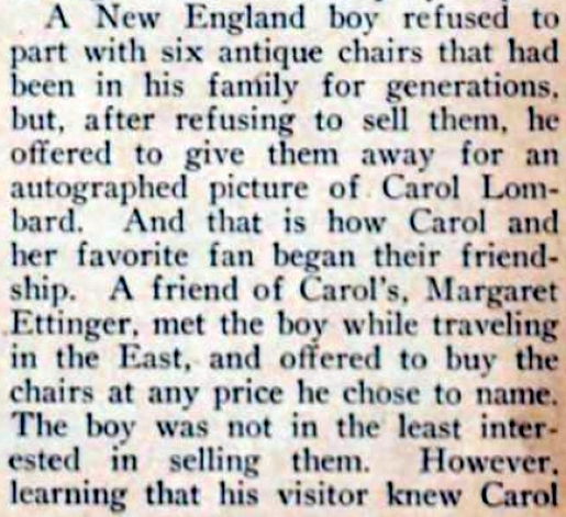 carole lombard picture play dec 1932 their pet fans 02b