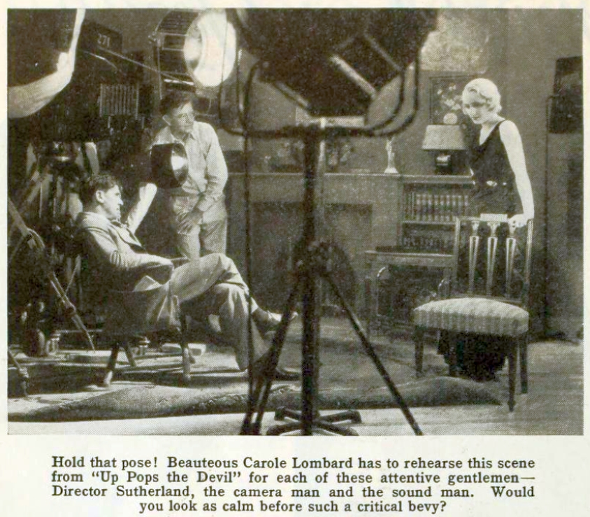 carole lombard photoplay june 1931 closeup