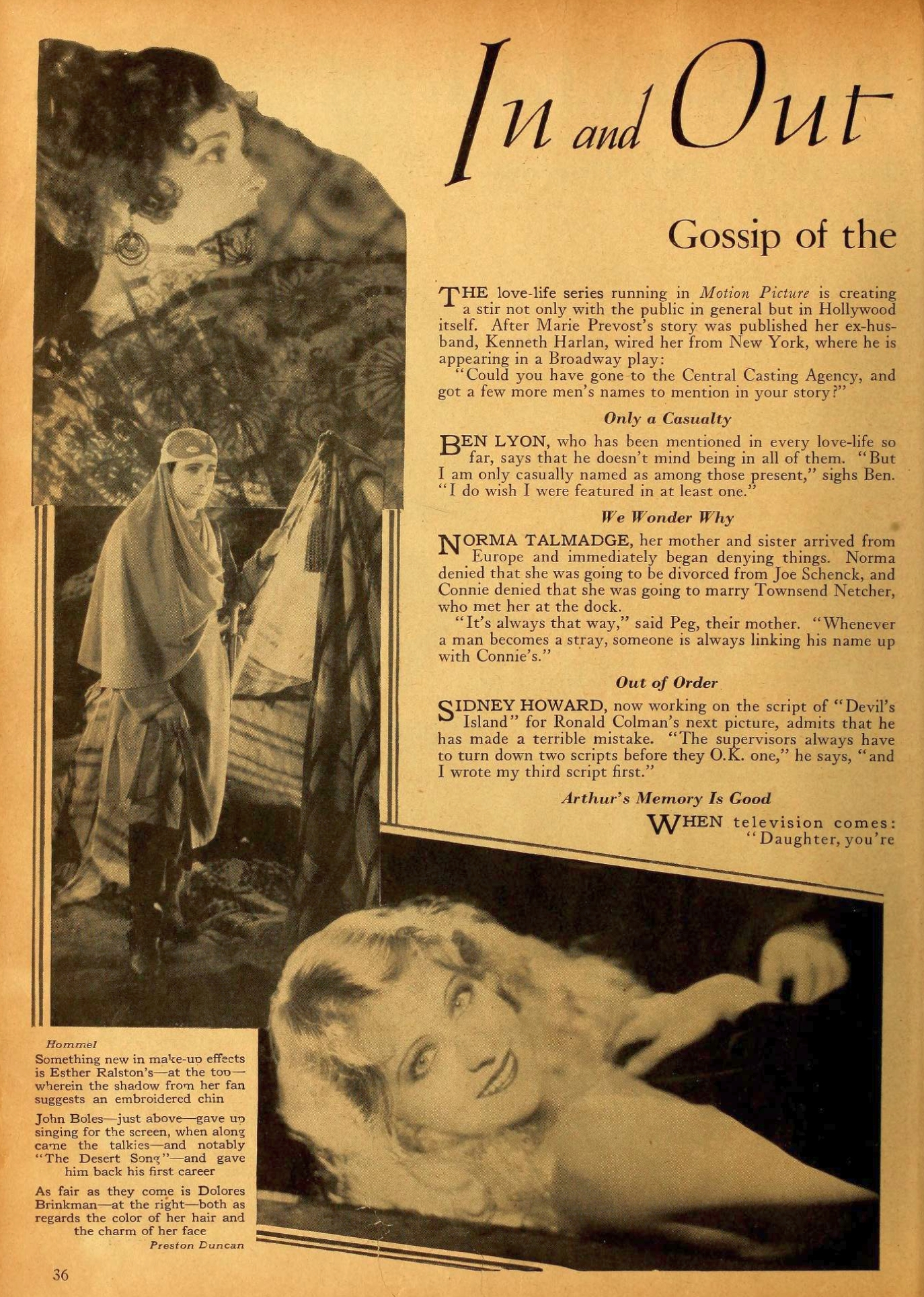 carole lombard motion picture april 1929a large