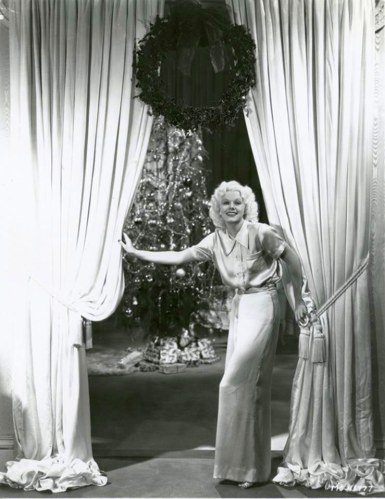 christmas jean harlow 1934a