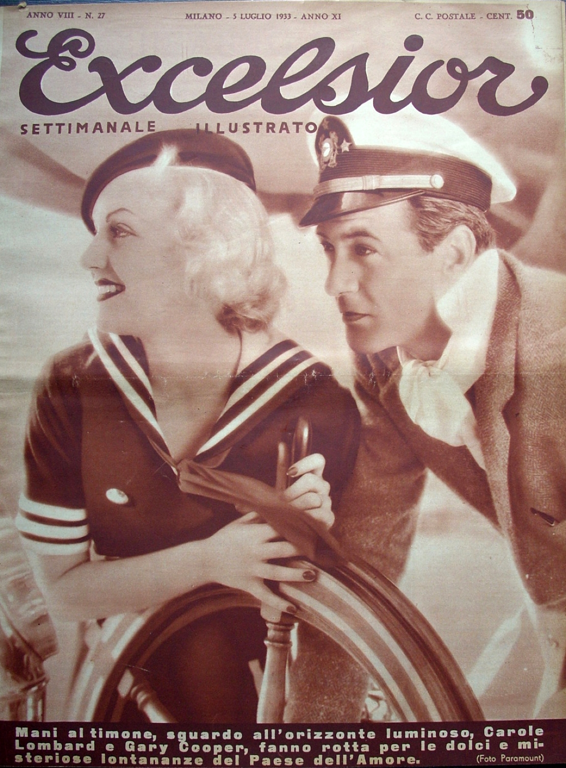carole lombard excelsior 1933a cover