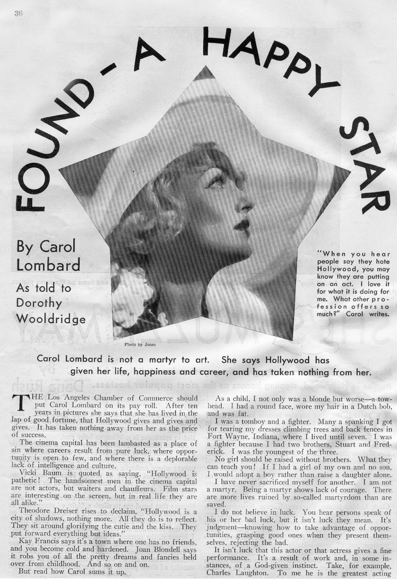 carole lombard picture play june 1934 found a happy star 00b
