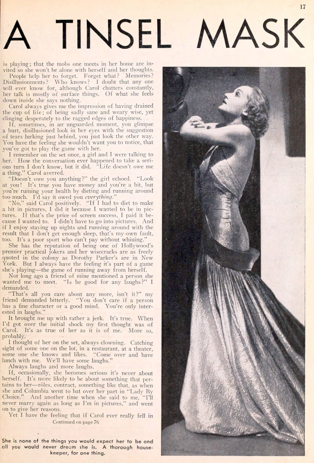 carole lombard picture play feb 1935 tears behind a tinsel mask 01a