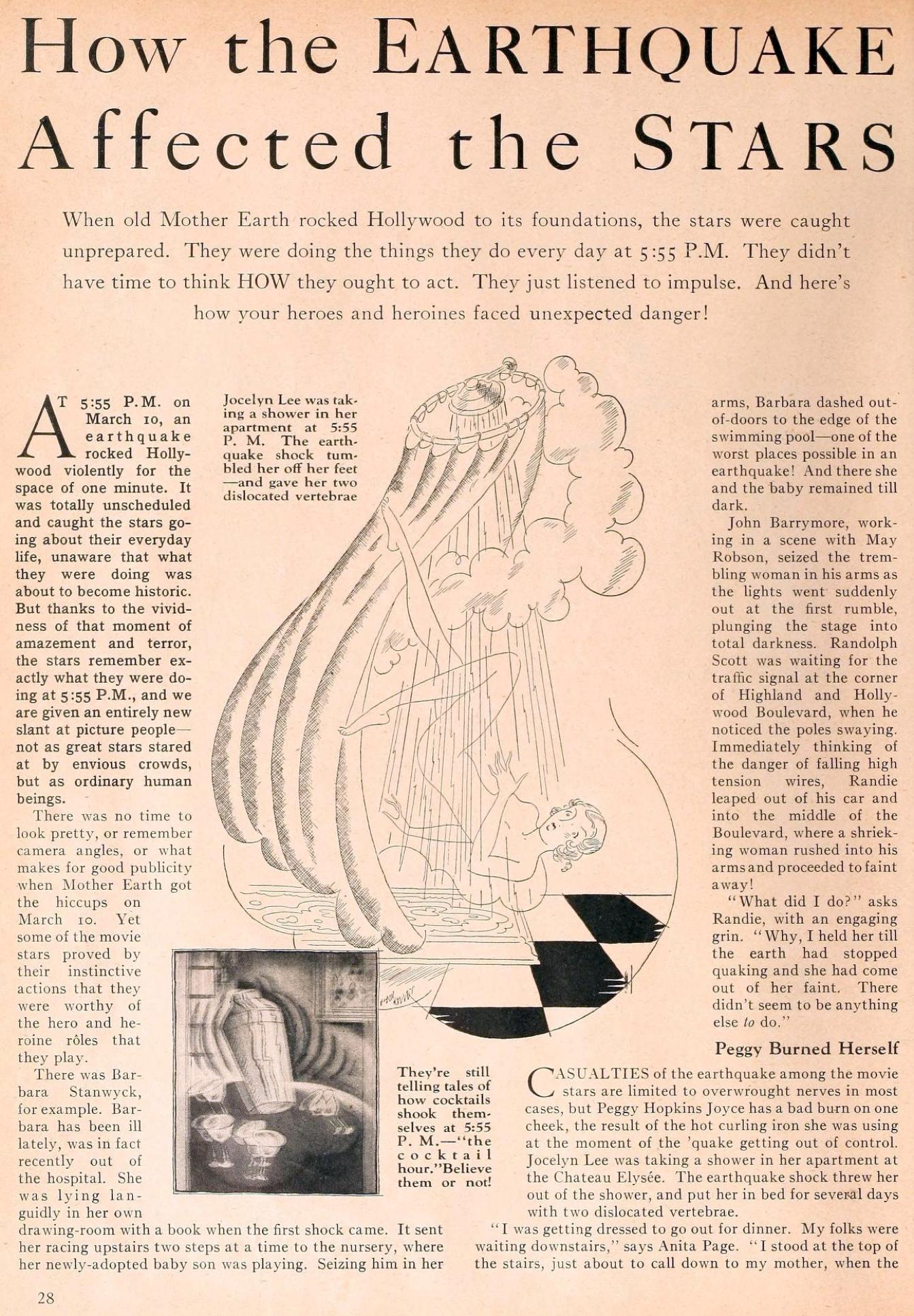 carole lombard motion picture june 1933 earthquake 00a