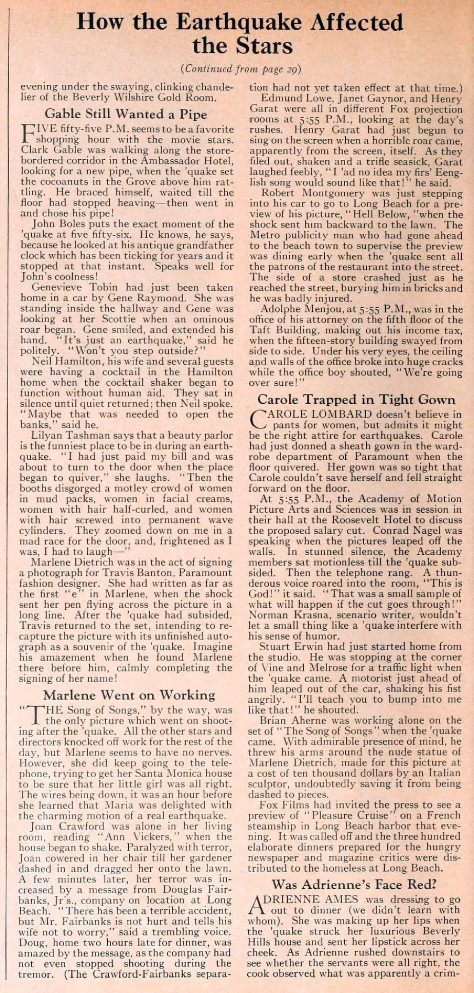 carole lombard motion picture june 1933 earthquake 02a