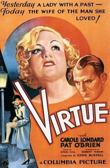 carole lombard virtue poster 00