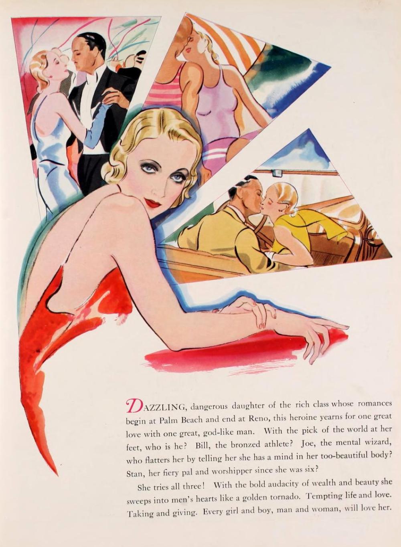carole lombard no one man 1931-32 paramount pressbook 01a