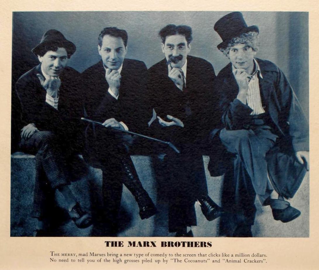 marx brothers 1931-32 paramount pressbook 00a