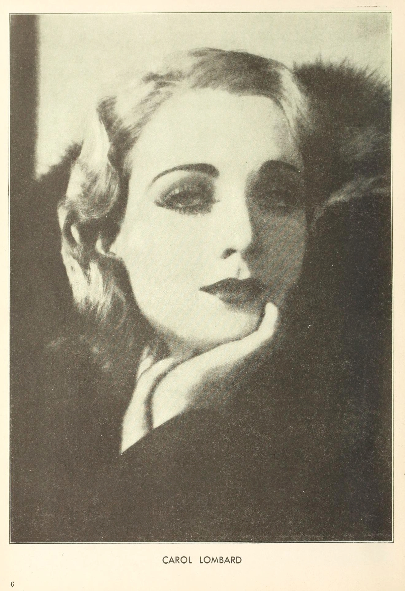 carole lombard the new movie magazine december 1929aa