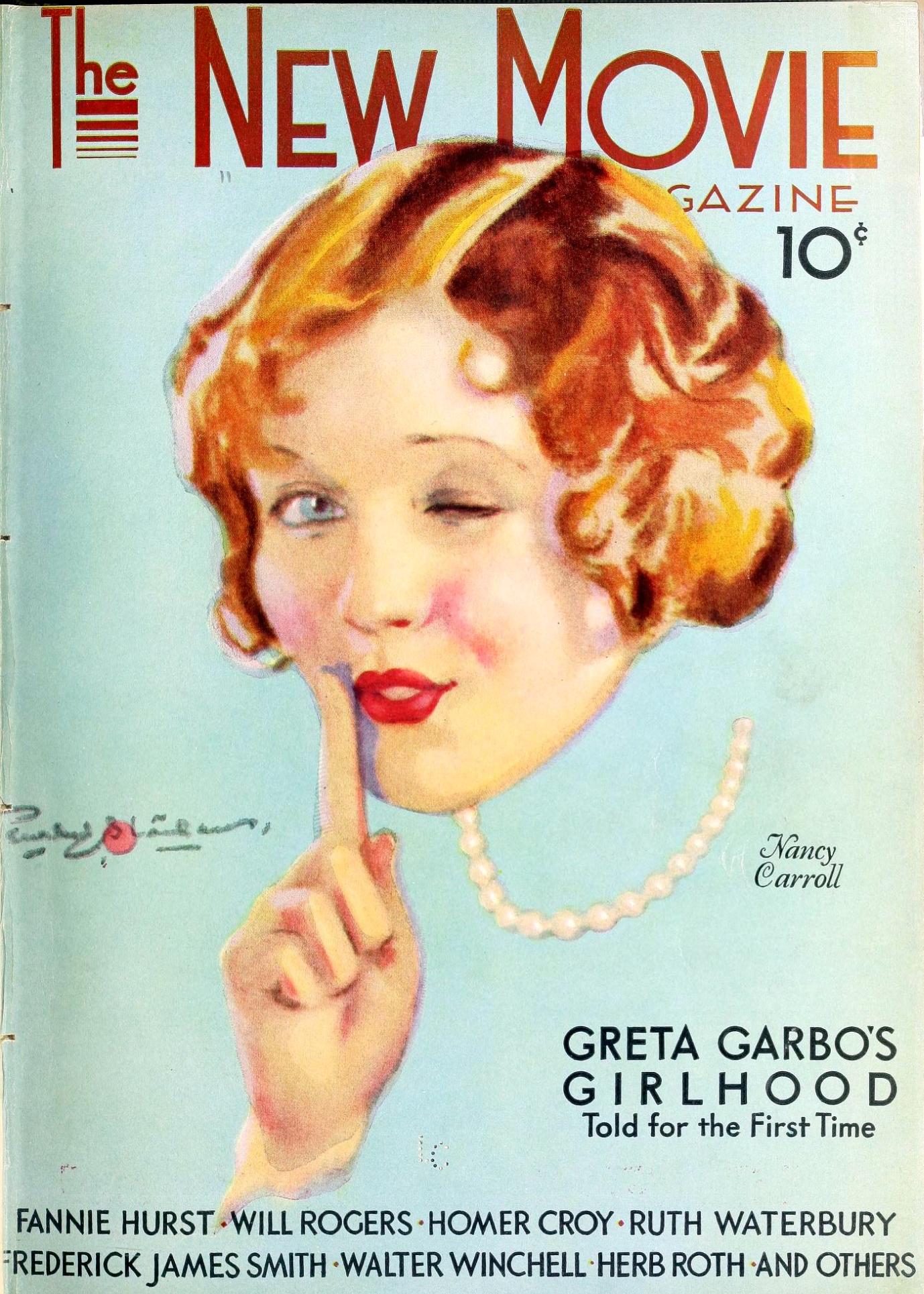 nancy carroll the new movie magazine december 1929a