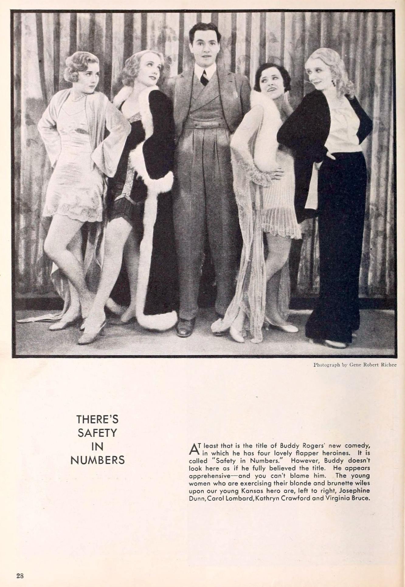 carole lombard the new movie magazine april 1930a