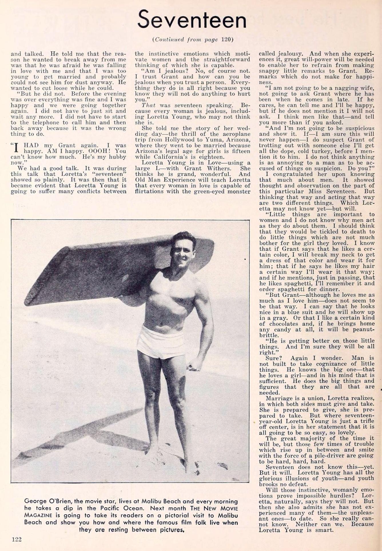 loretta young the new movie magazine april 1930 article 02a