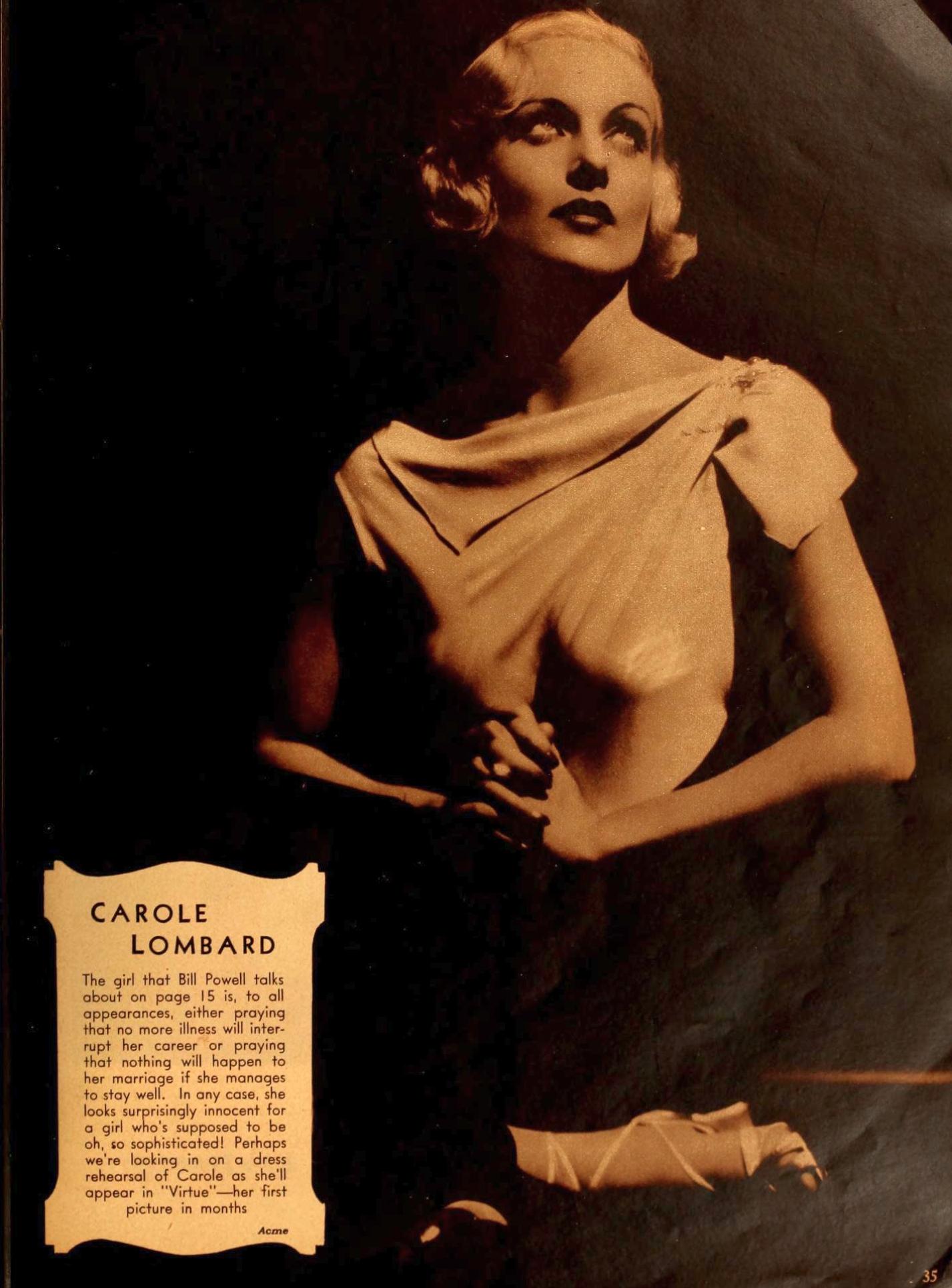 carole lombard movie classic november 1932a