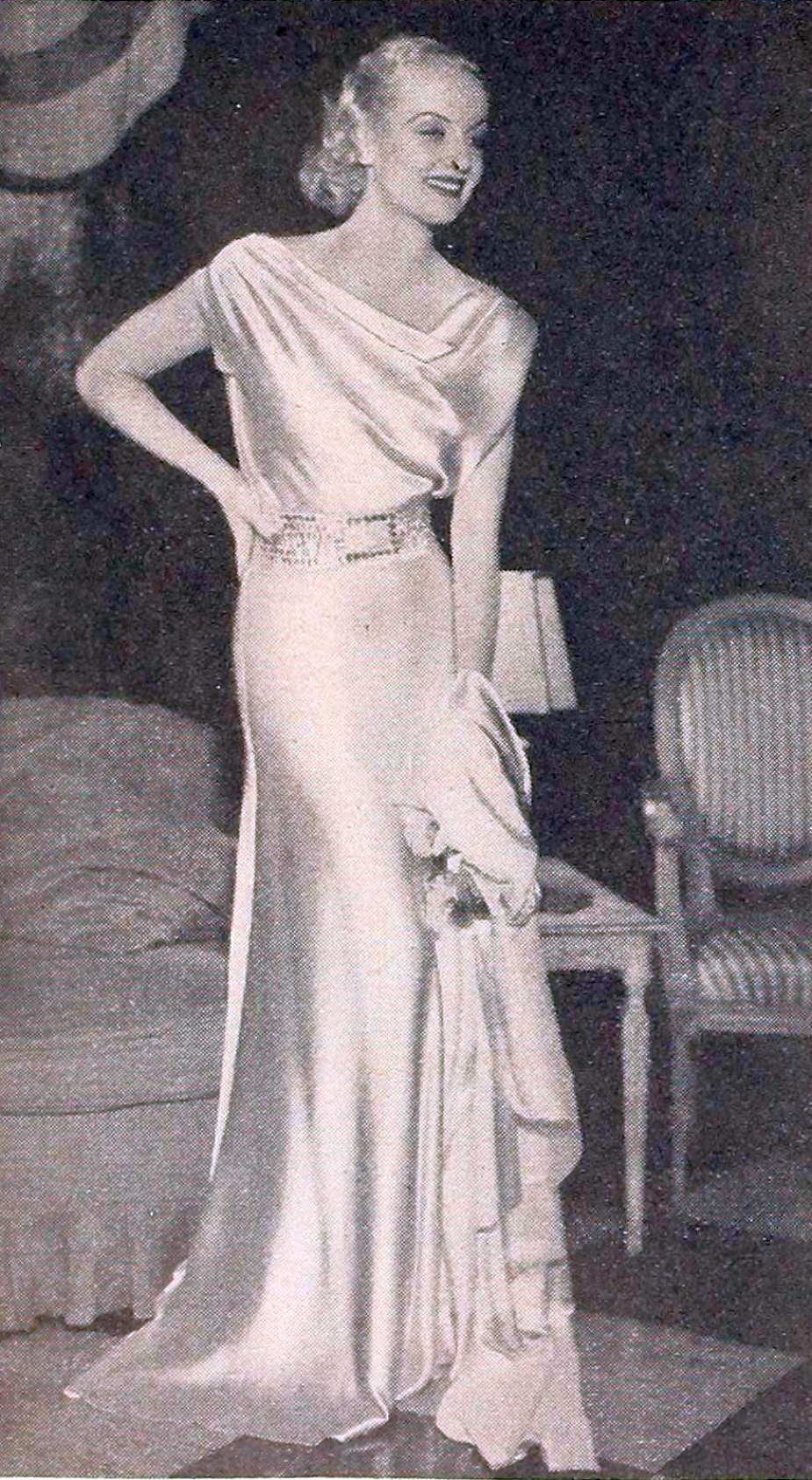 carole lombard motion picture december 1933 acloseup