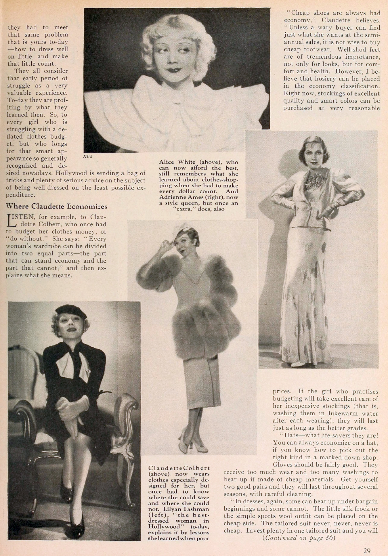 carole lombard motion picture december 1933ba