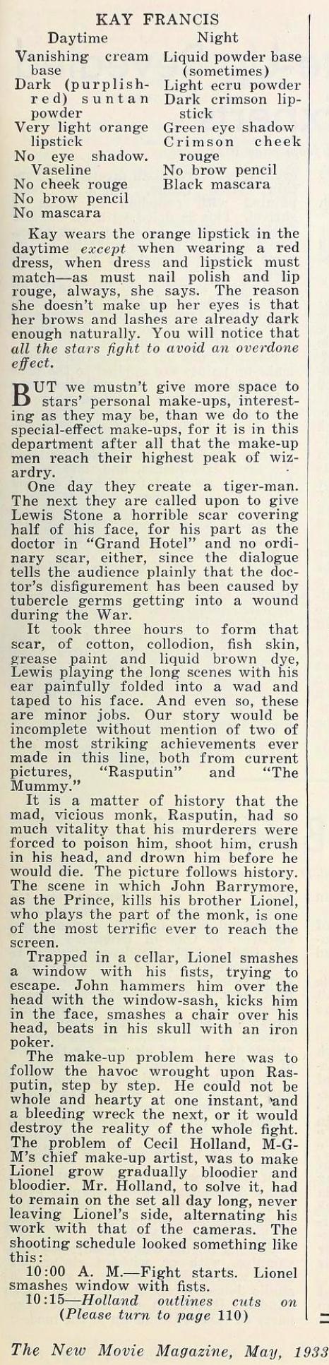 carole lombard the new movie magazine may 1933fa