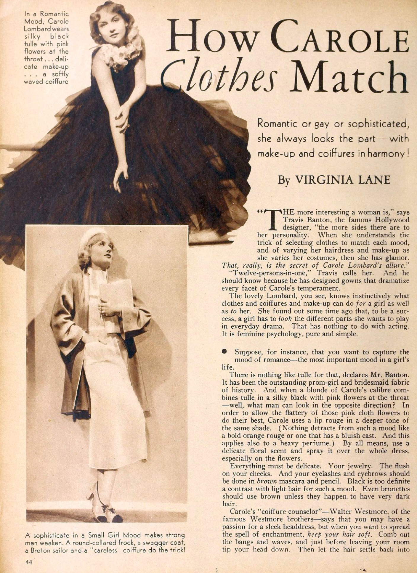 carole lombard movie classic september 1935aa