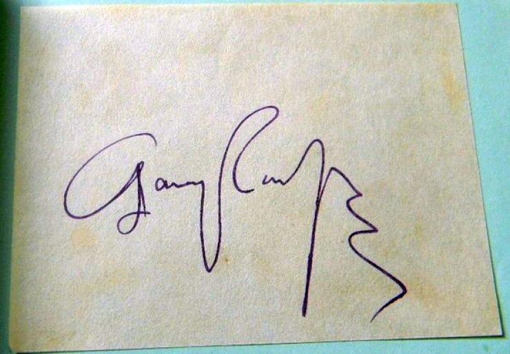 autograph gary cooper 00a