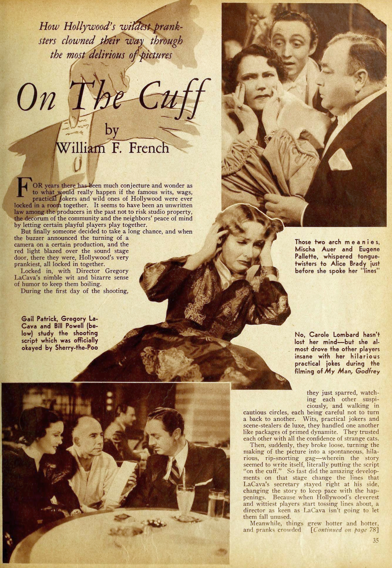 carole lombard my man godfrey 00a movie classic sept 1936