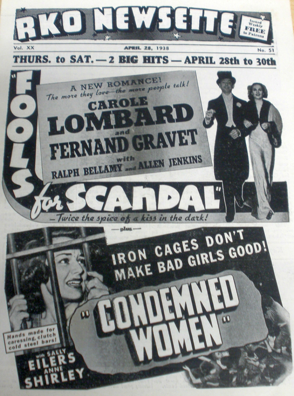 carole lombard fools for scandal rko newsette 00a