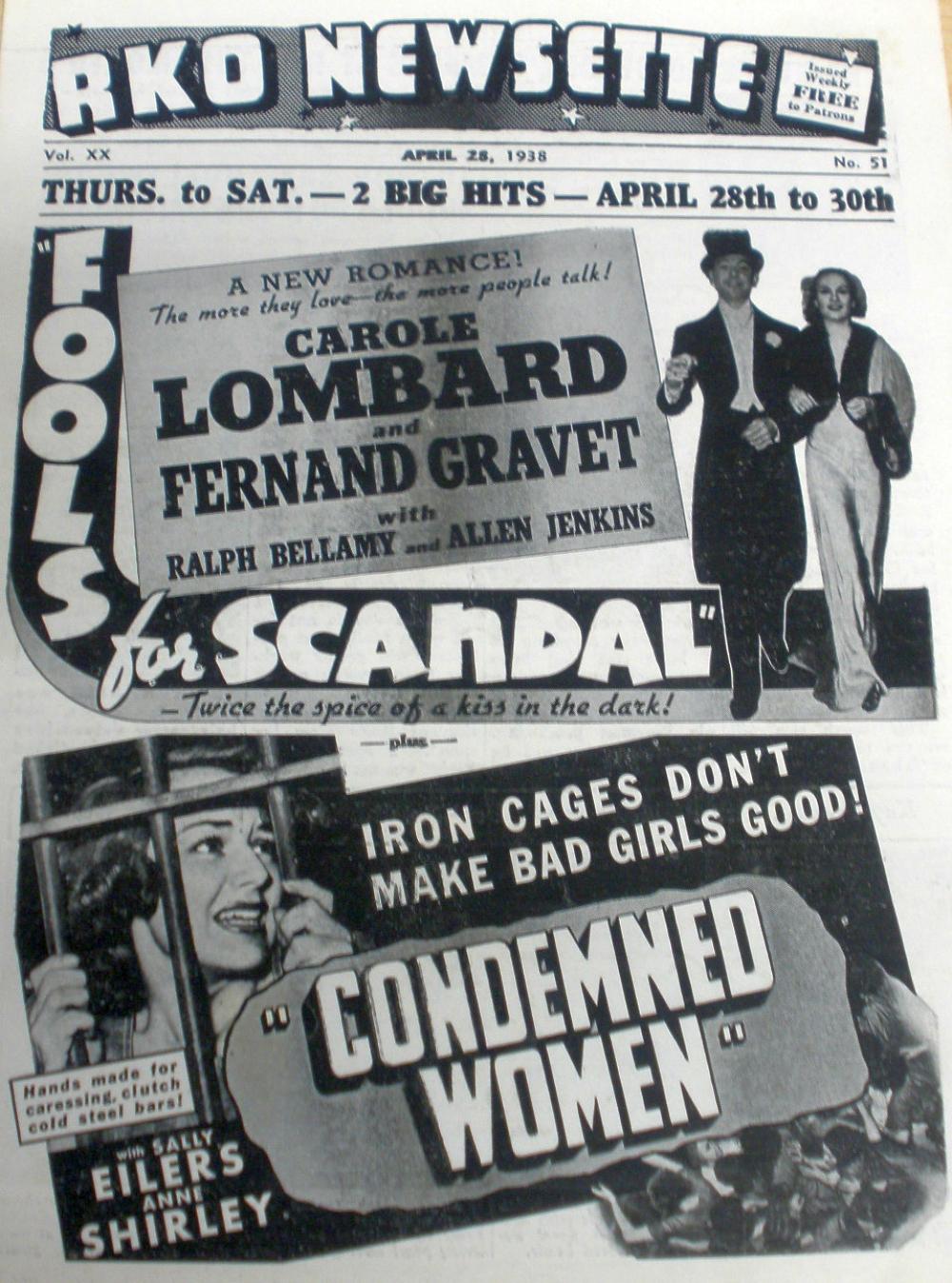 carole lombard fools for scandal rko newsette 00a