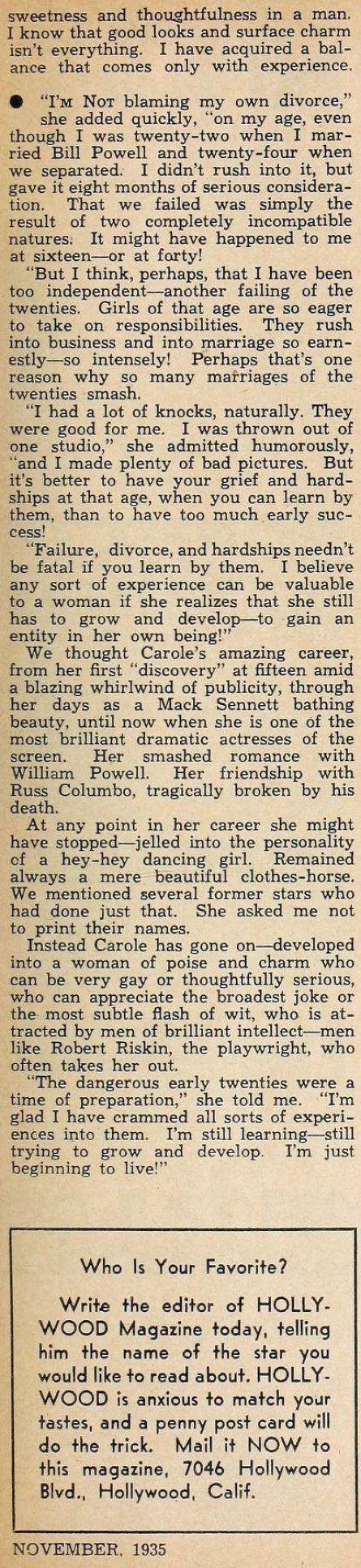 carole lombard hollywood november 1935ca