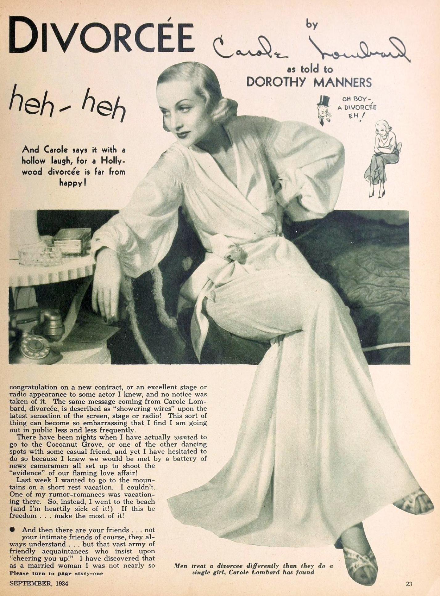 carole lombard hollywood september 1934ba