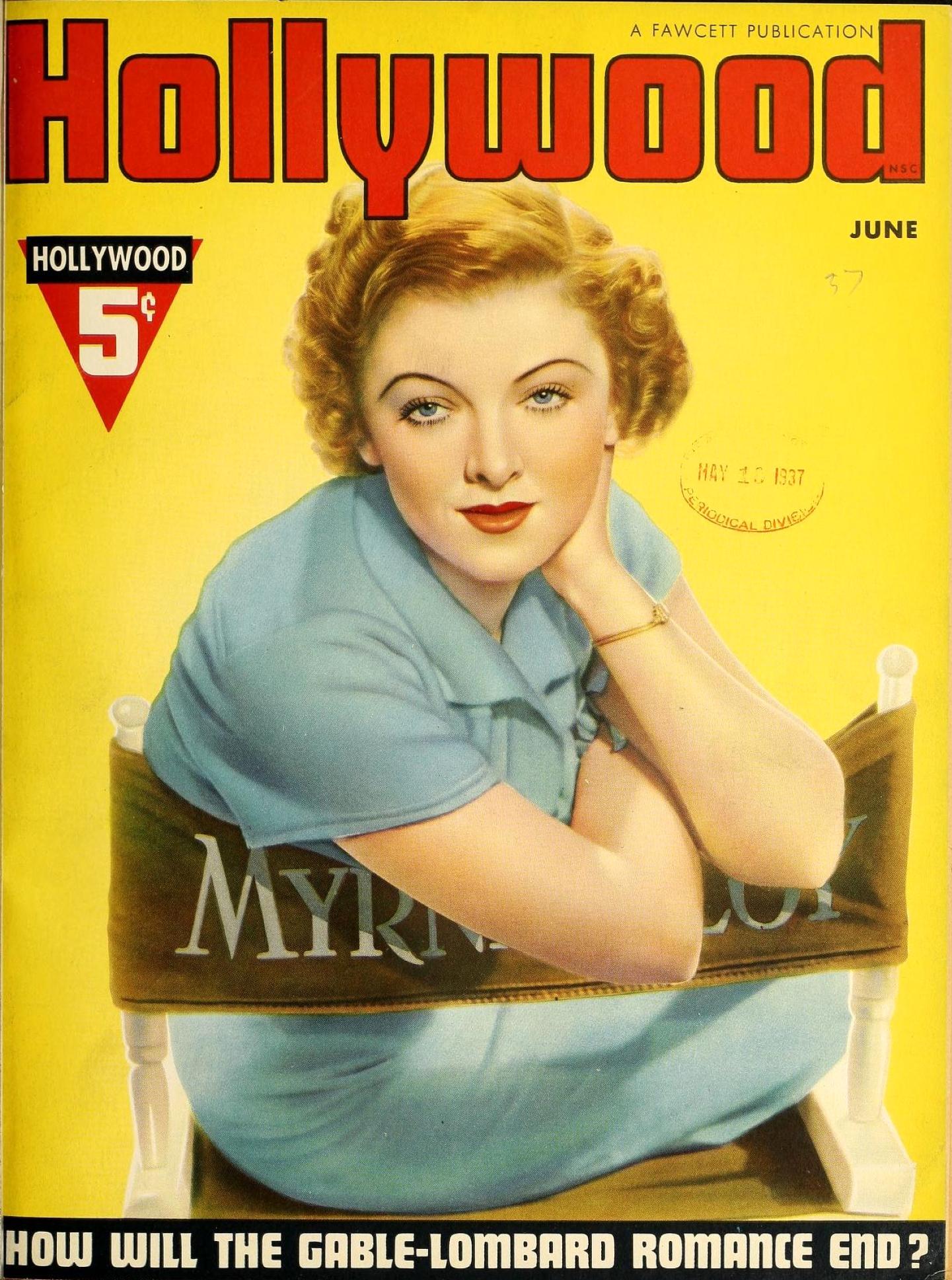 myrna loy hollywood june 1937a