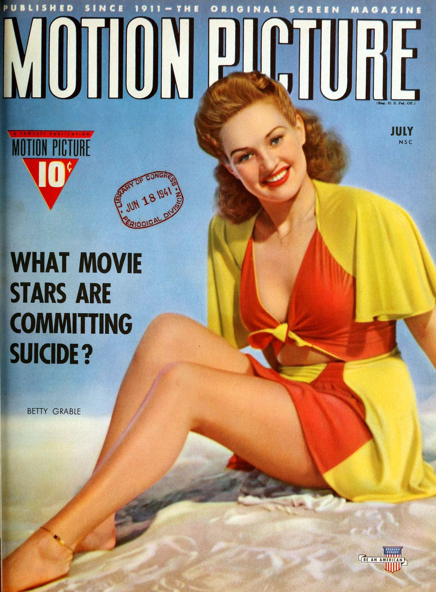 motion picture july 1941. large