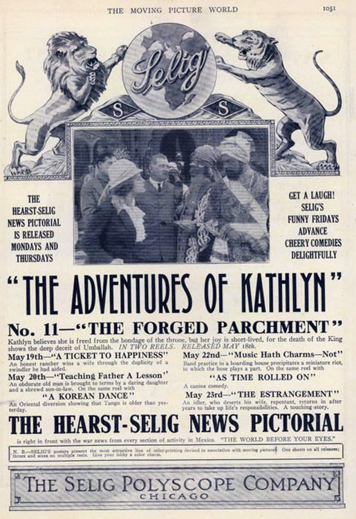 the adventures of kathlyn ad large