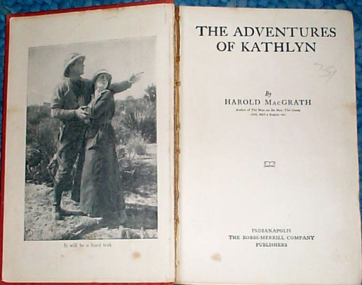 the adventures of kathlyn novel large
