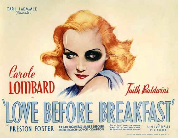 carole lombard love before breakfast poster 04a