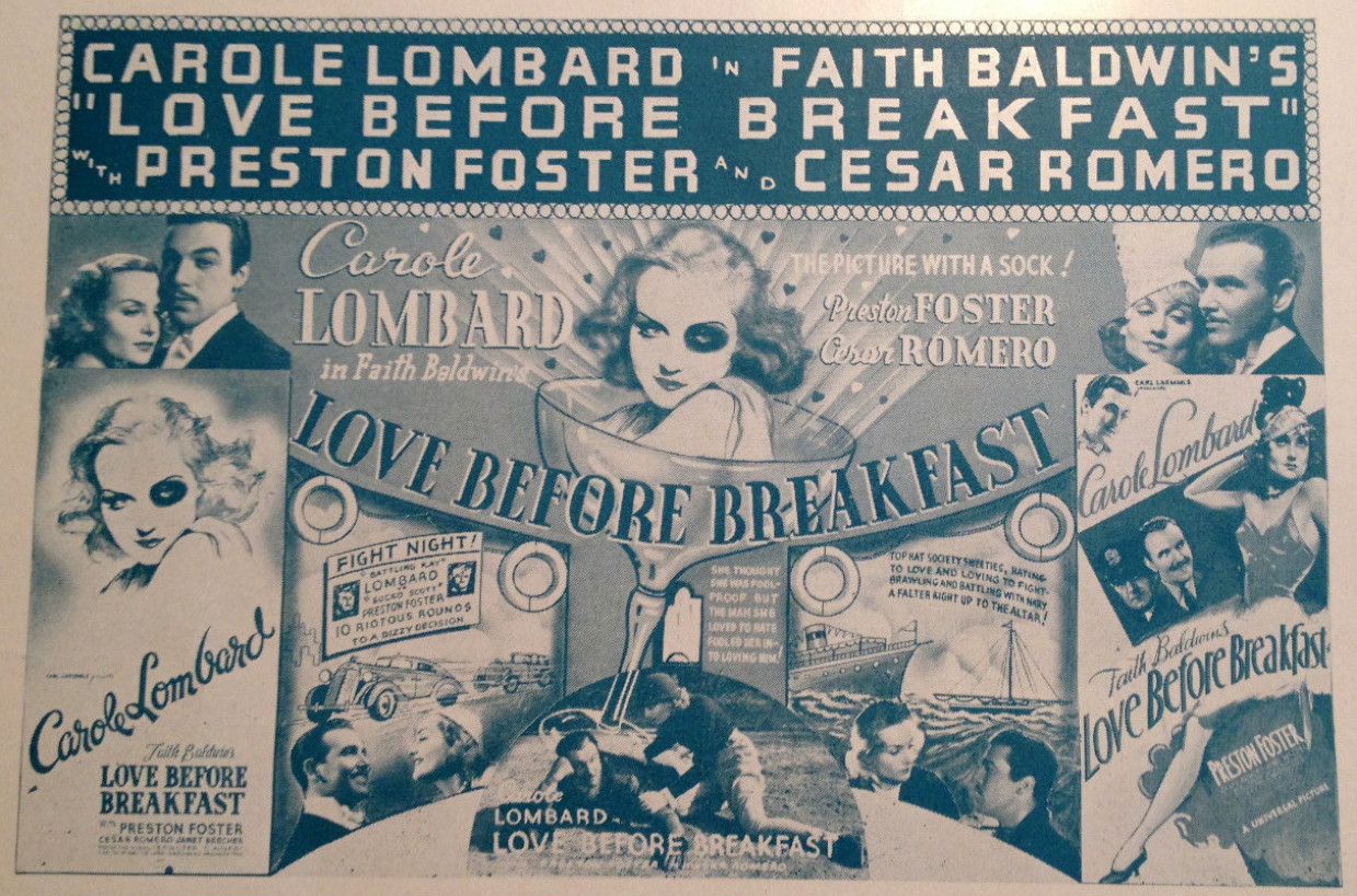 carole lombard love before breakfast pressbook 01a