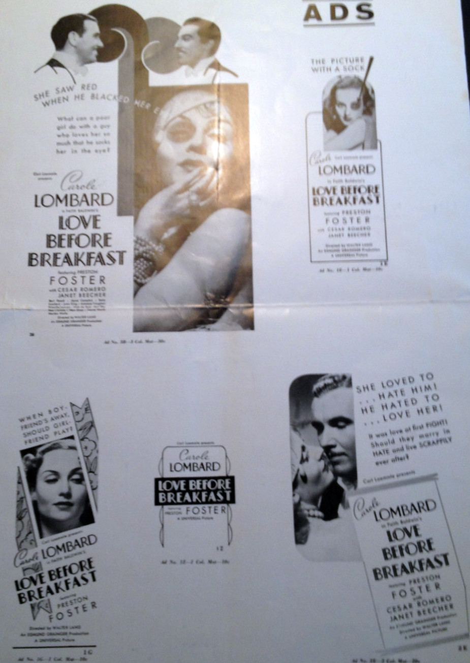carole lombard love before breakfast pressbook 08a