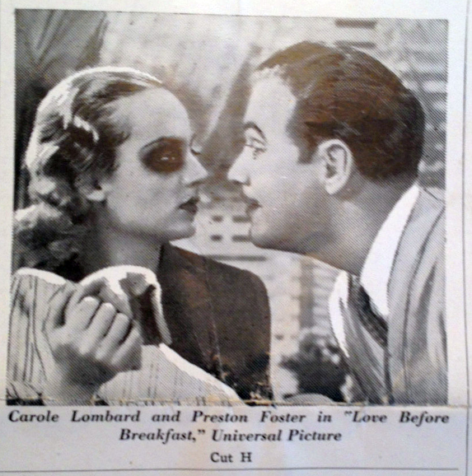 carole lombard love before breakfast pressbook 09a