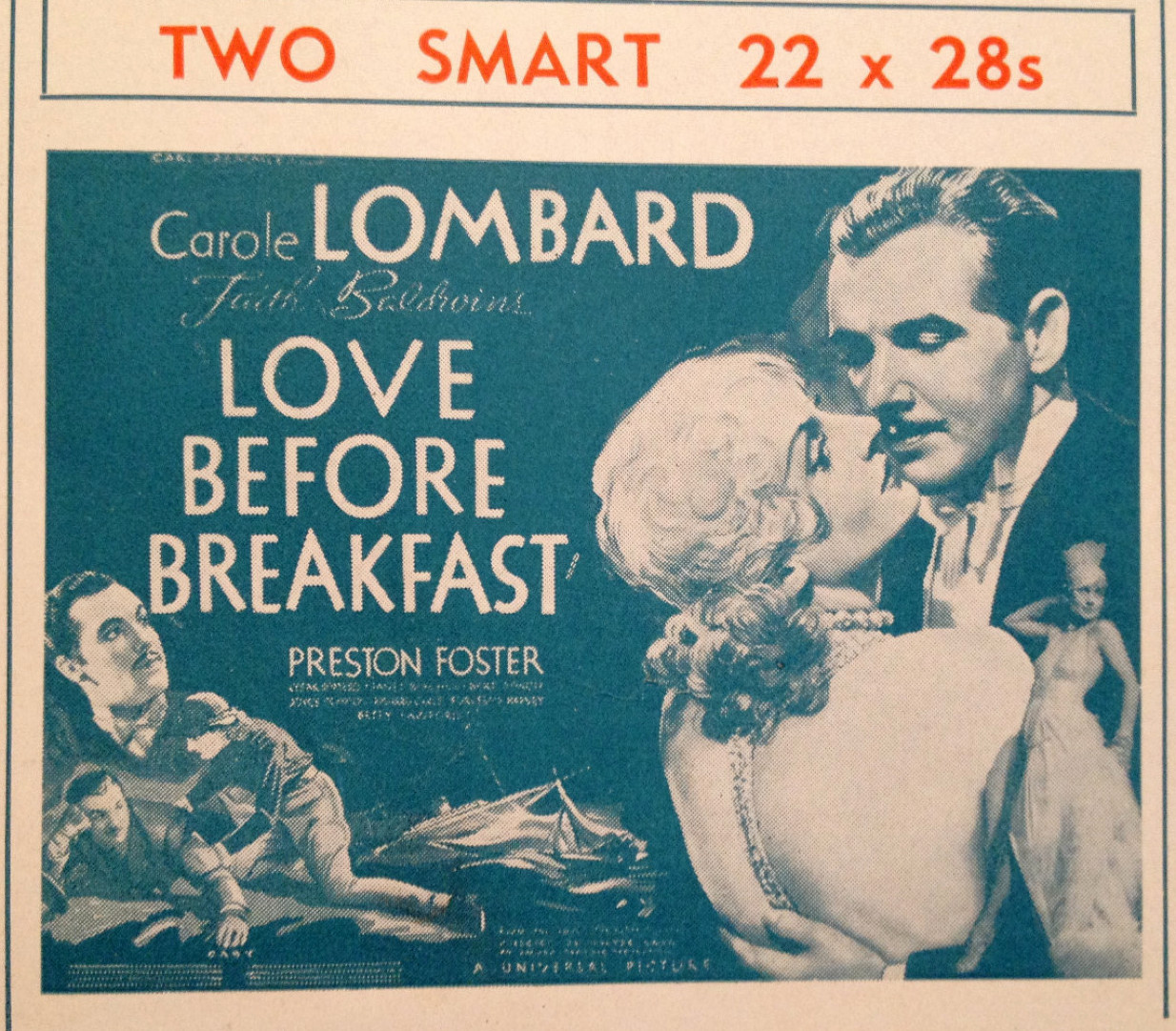 carole lombard love before breakfast pressbook 02a