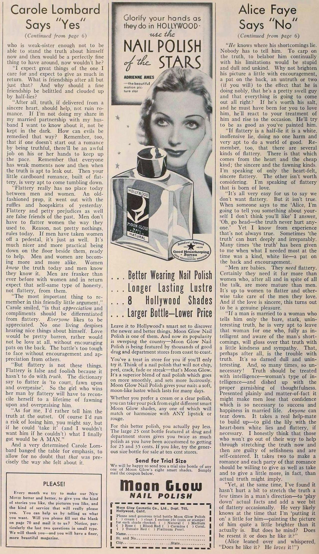 carole lombard the new movie magazine june 1935bb