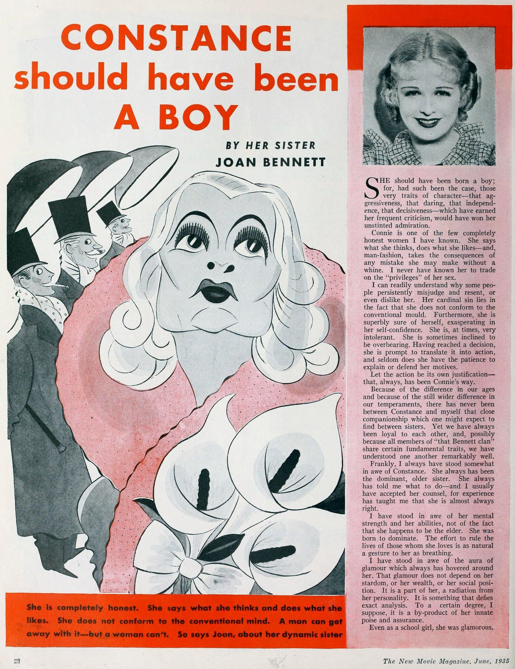 constance bennett  the new movie magazine june 1935aa