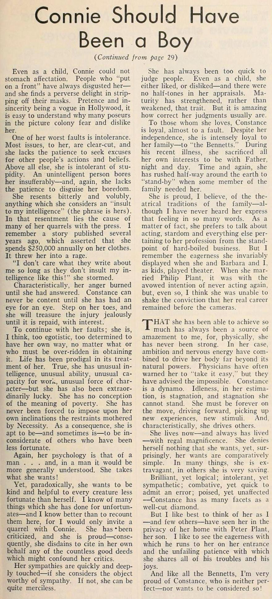 constance bennett  the new movie magazine june 1935ca