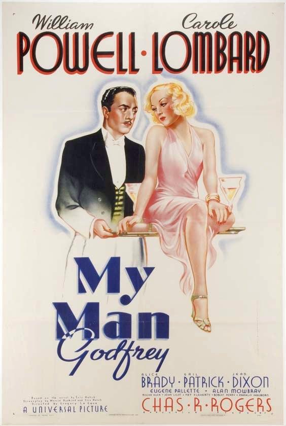 carole lombard my man godfrey poster 01a