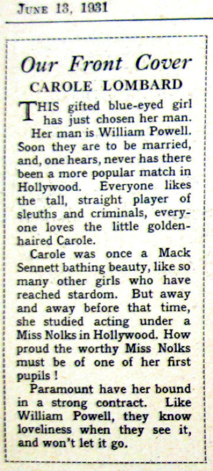 carole lombard film weekly 061331bb